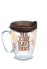 Tervis Tervis 16 oz Mug w/Lid My Kids Have Paws