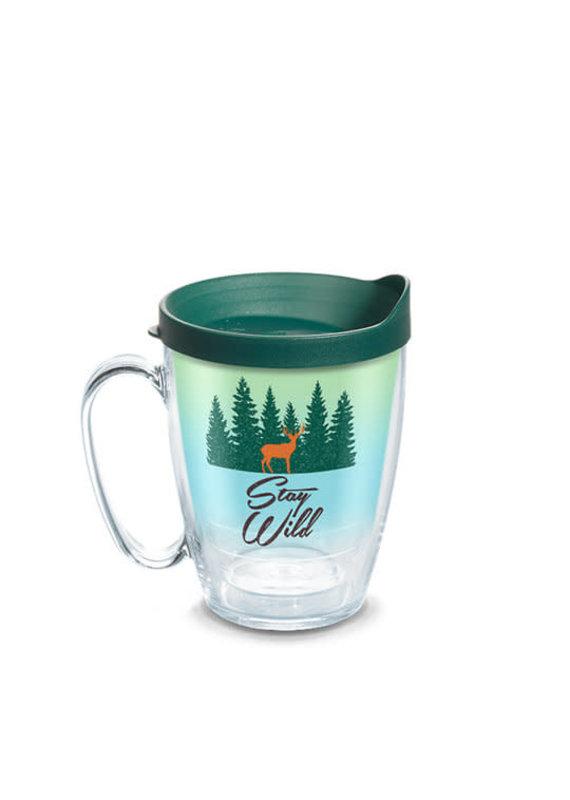 Tervis Tervis 16 oz Mug w/Lid Stay Wild