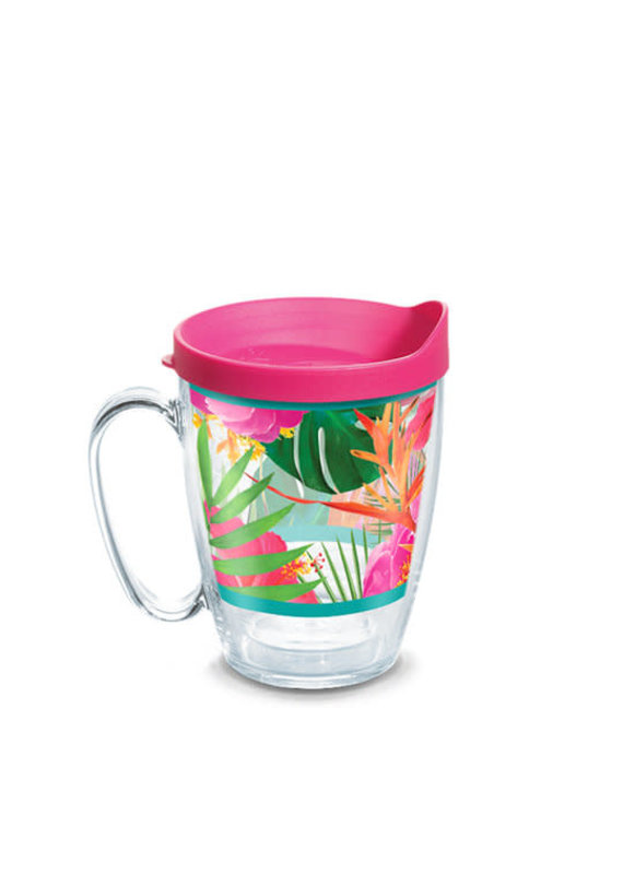 Tervis Tervis 16 oz Mug w/Lid Tropical Hibiscus