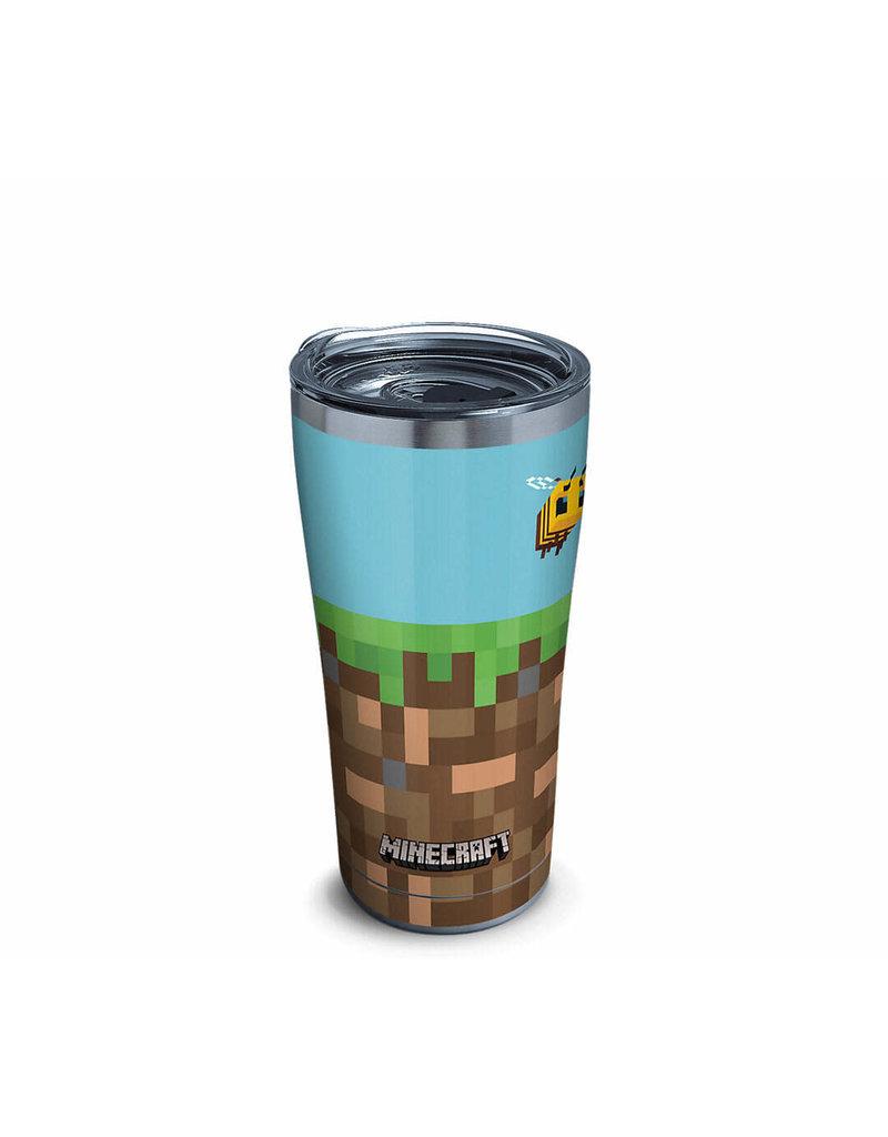 Tervis Tervis 20oz Stainless Steel w/ Hammer Lid Minecraft - Grass Block