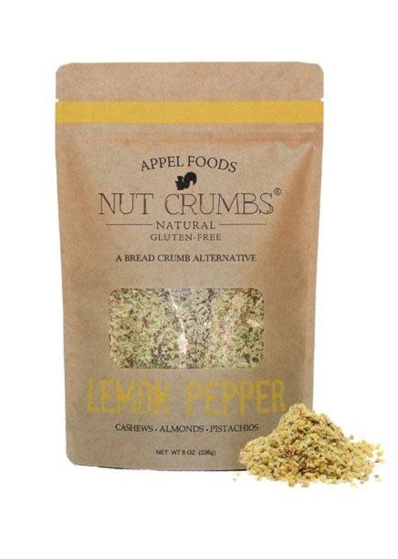 Appel Foods Nut Crumbs Lemon Pepper