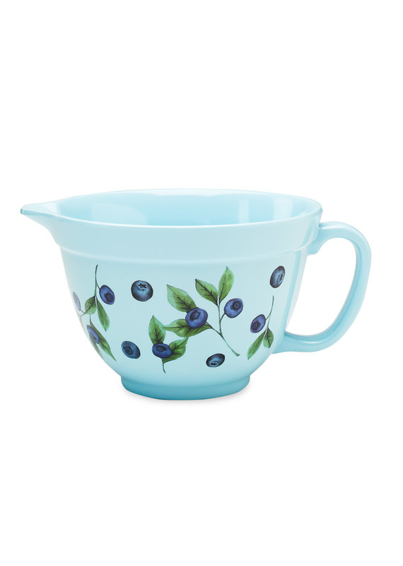 Stonewall Kitchen Melamine Batter Bowl Blueberry