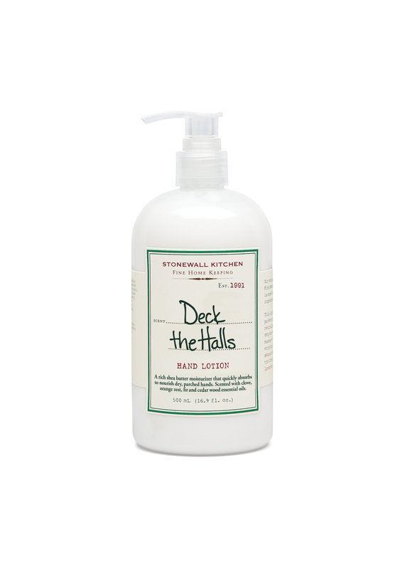 Stonewall Kitchen Stonewall Kitchen Deck The Halls Hand Lotion