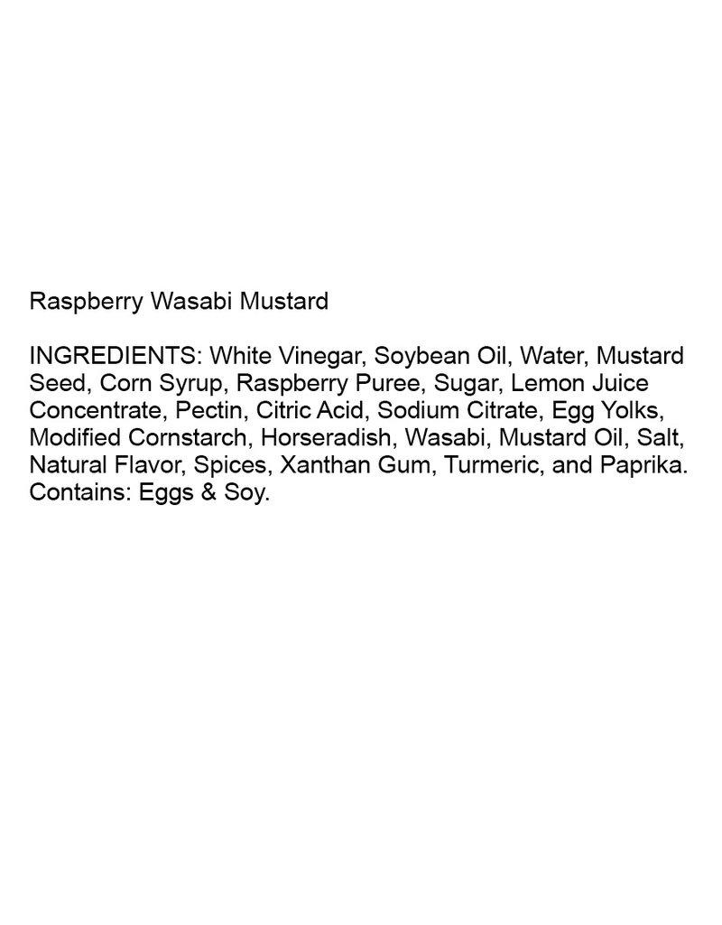 Terrapin Ridge Farms Raspberry Wasabi Mustard