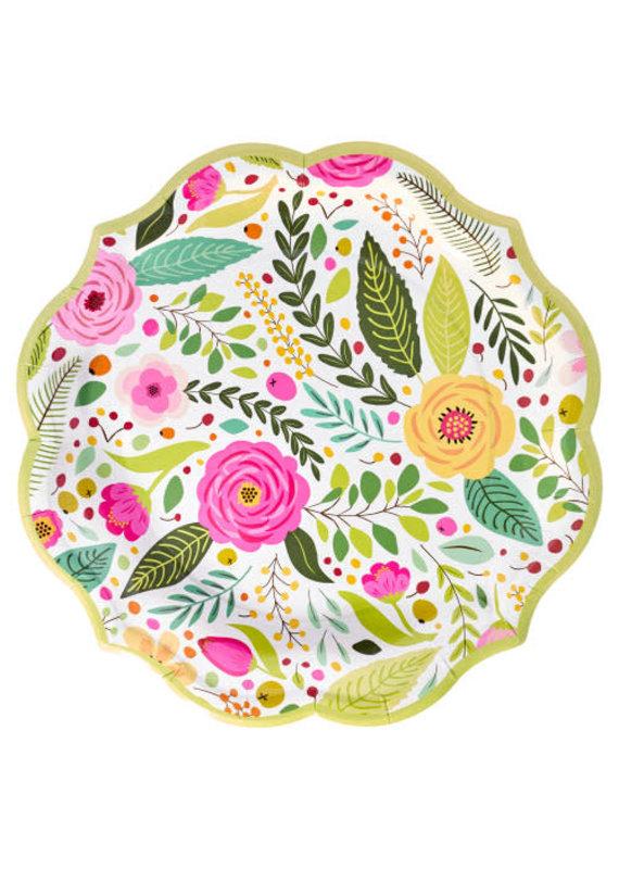 Sophisti Plate Dinner Plate Spring Blossoms/8ct