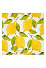 Sophisti Plate Lunch Napkin Lemons/16ct