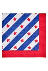 Sophisti Plate Lunch Napkin Red Patriotic/16ct