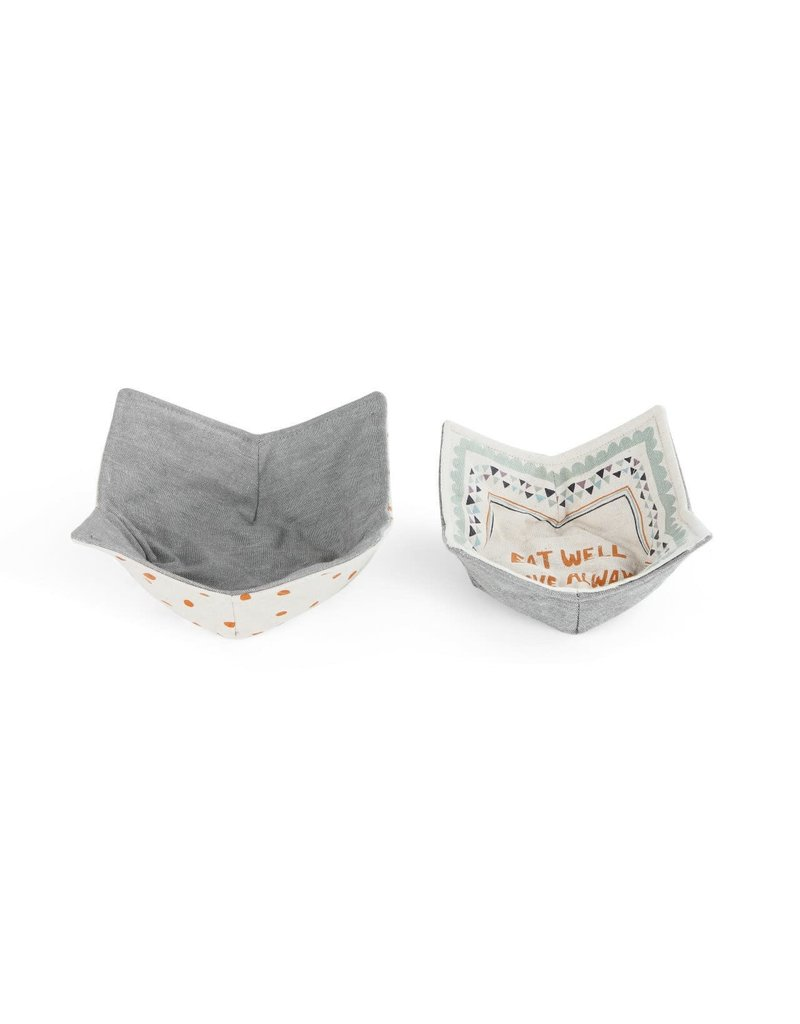 Microwavable Bowl Pot Holder - Set of 2 Eat Well