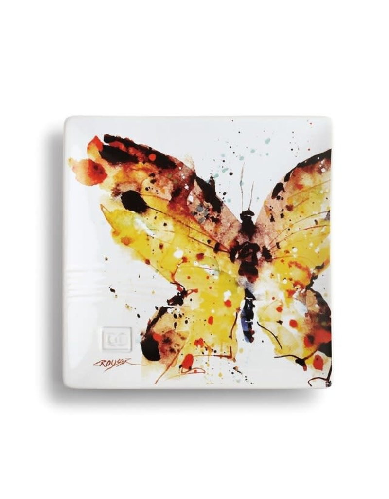 Snack Plate Swallowtail Butterfly