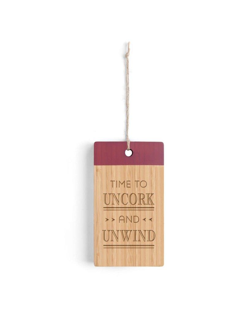 Uncork & Unwind Bar Cutting Board