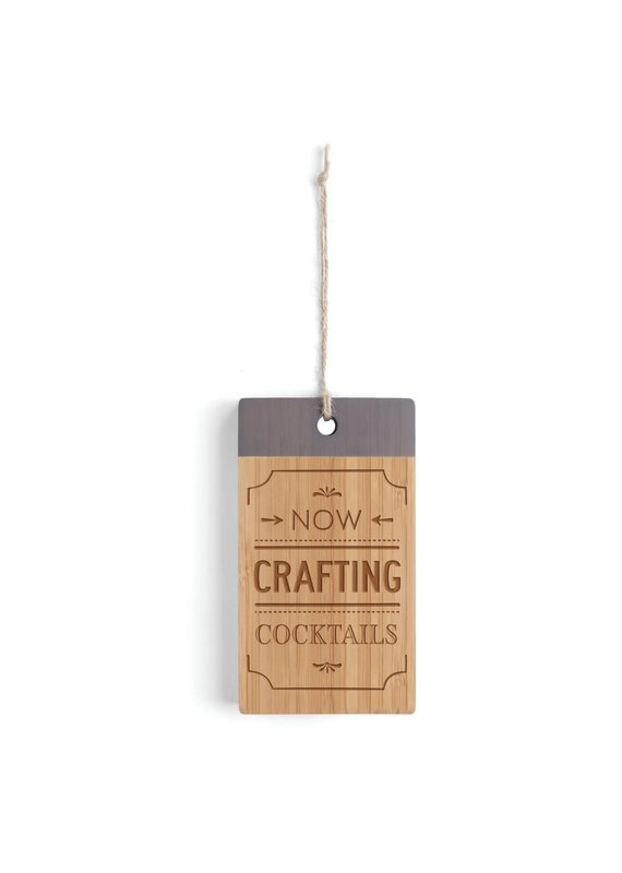 Crafting Cocktails Bar Cutting Board