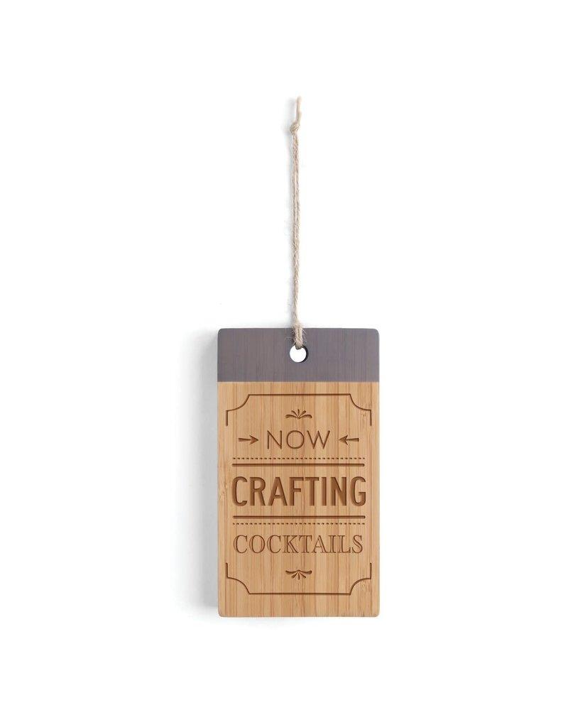 Crafting Cocktails Bar Cutting Board