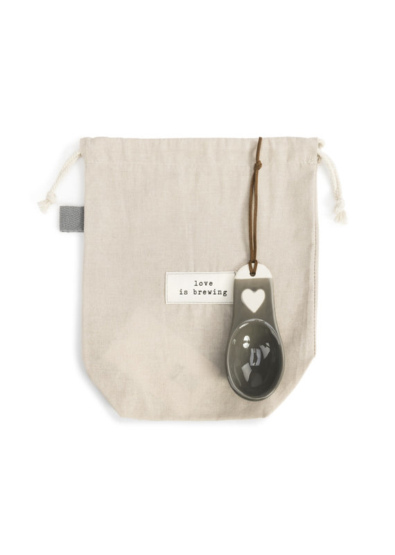 Love is Brewing Coffee Bag with Scoop
