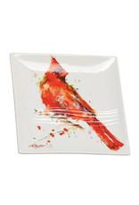 Snack Plate Cardinal
