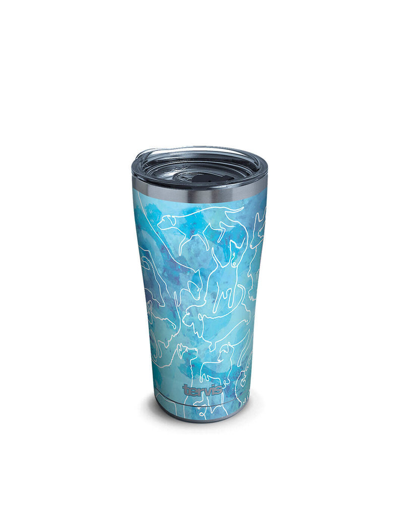 Tervis Tervis 20oz Stainless Steel w/ Hammer Lid A Dog's Tale