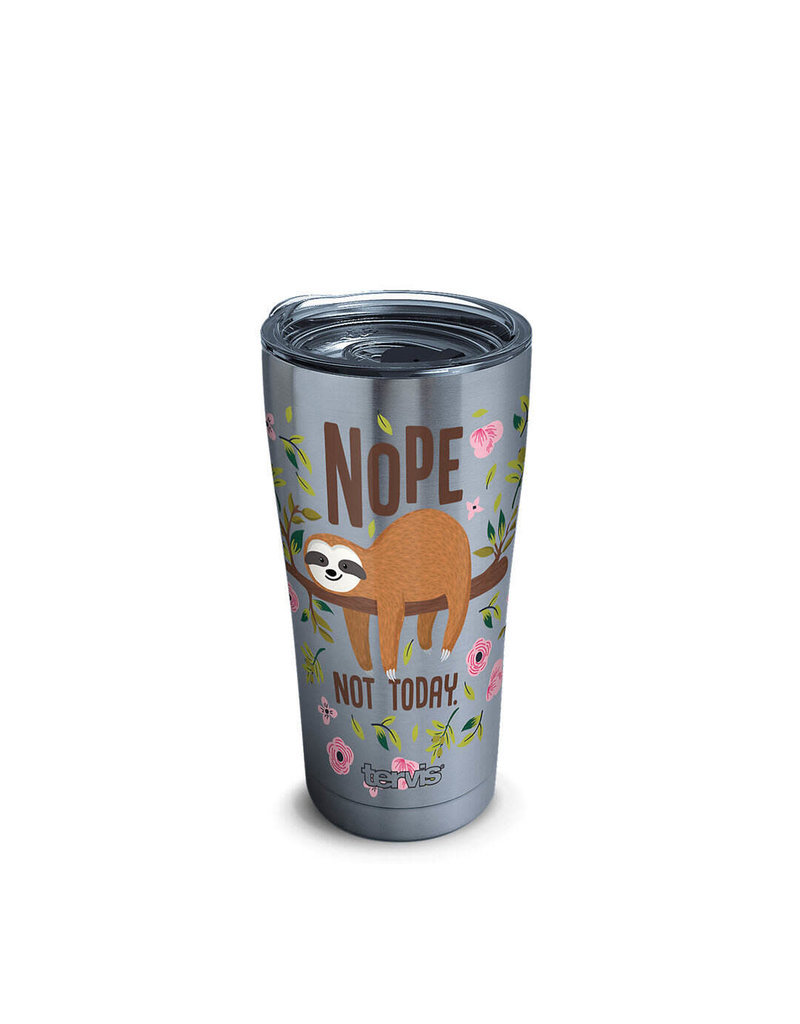 Tervis Tervis 20oz Stainless Steel w/ Hammer Lid Sloth Nope Not Today