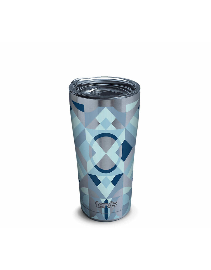 Tervis Tervis 20oz Stainless Steel w/ Hammer Lid Neo Deco Blue
