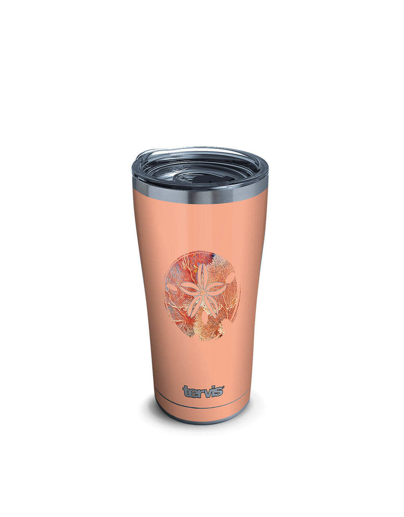 Tervis Tervis 20oz Stainless Steel w/ Hammer Lid Tropical Sand Dollar
