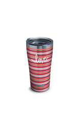 Tervis Tervis 20oz Stainless Steel w/ Hammer Lid Coton Colors™ - Love Stripes