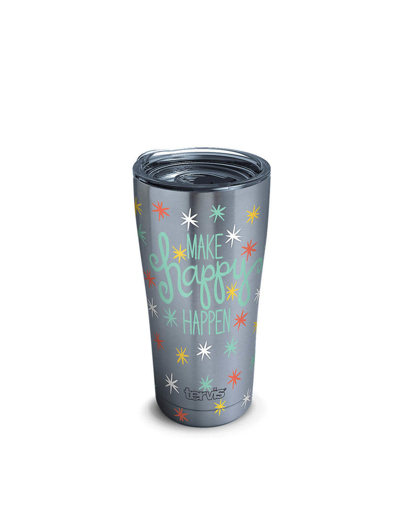 Tervis Tervis 20oz Stainless Steel w/ Hammer Lid Happy Everything!™ - Happy Happen