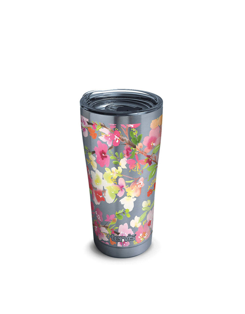 Tervis Tervis 30oz Stainless Steel w/ Hammer Lid Yao Cheng - Sakura Floral