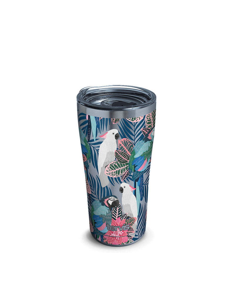 Tervis Tervis 20oz Stainless Steel w/ Hammer Lid Tropical Birds Collage