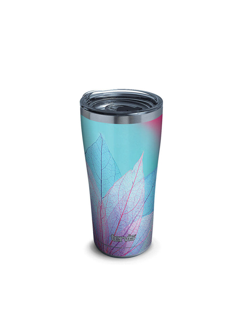 Tervis Tervis 20oz Stainless Steel w/ Hammer Lid Turquoise Leaves