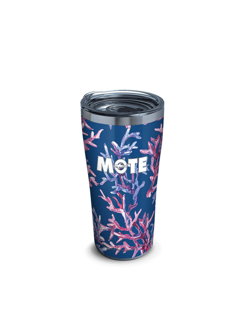 Tervis Tervis 30 oz Stainless Steel w/Lid Mote Marine Coral Pattern
