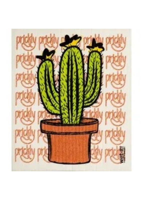 Wet-It Wet It Prickly Cactus