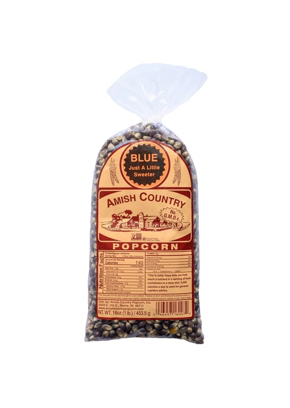 Amish Country Blue 1lb Popcorn