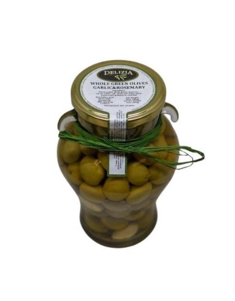 Olives Whole Manzanilla Olive with Rosemary & Garlic