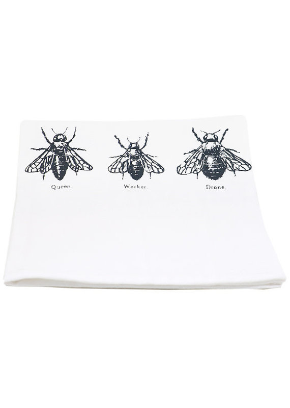 Coin Laundry Bee Trio Kitchen Towel