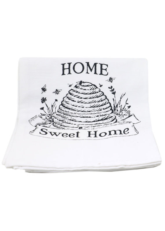 Coin Laundry Home Sweet Home Cotton Kitchen Towel