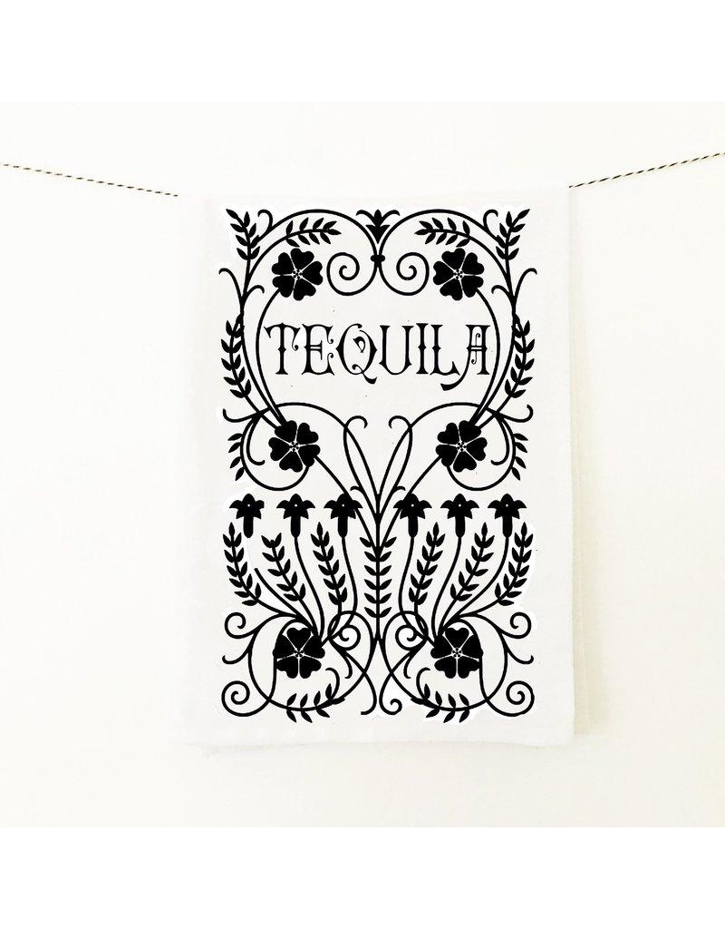 Coin Laundry Tequila Speakeasy Kitchen Towel