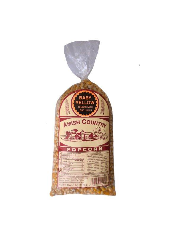 Amish Country Baby Yellow 1lb Popcorn