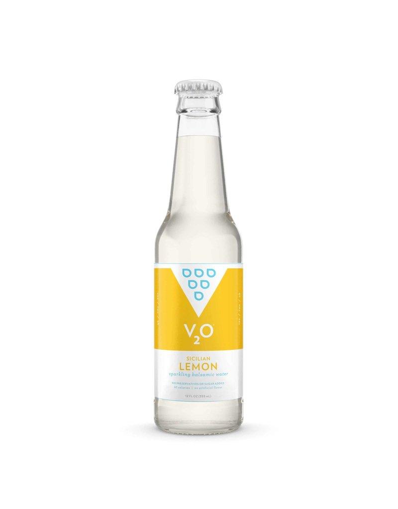 V2O V2O Sparkling Balsamic Water Sicilian Lemon