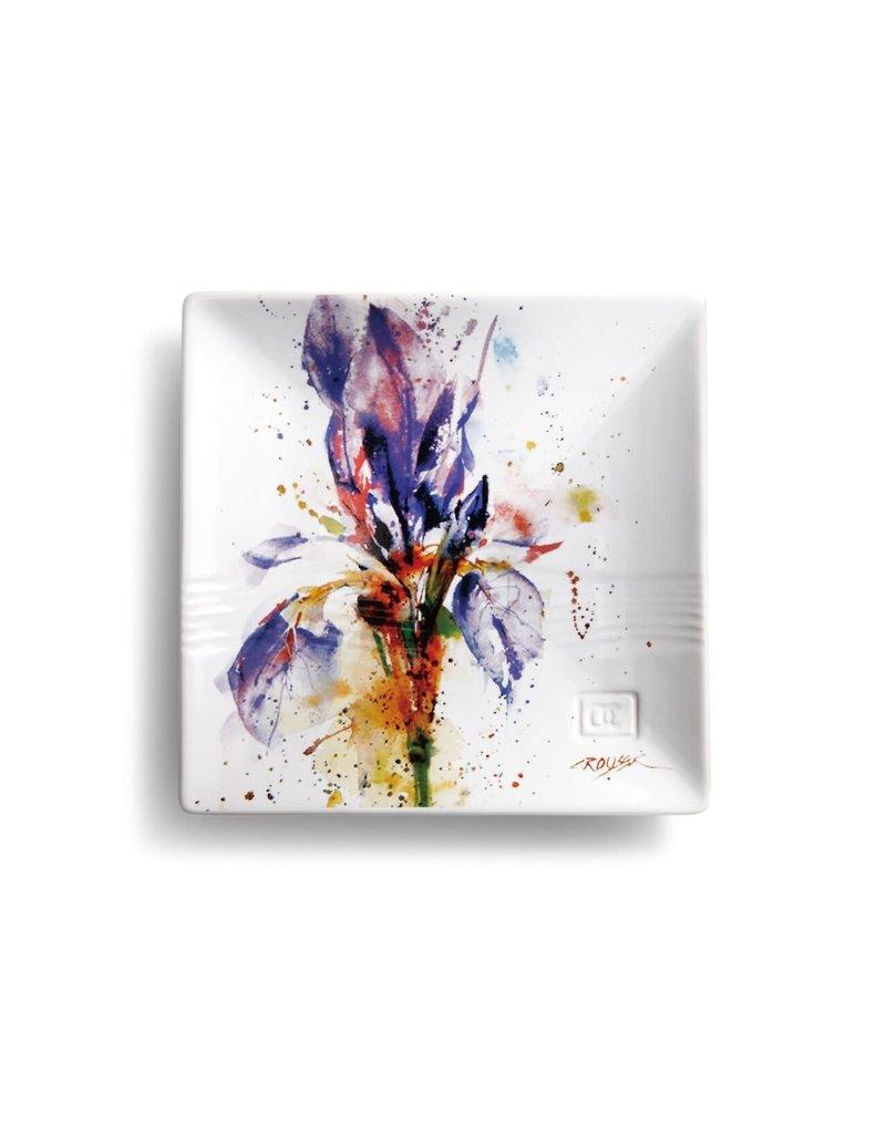 Snack Plate Iris