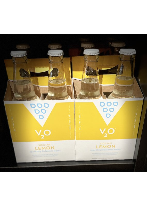 V2O V2O 4 Pack Sparkling Balsamic Water Sicilian Lemon