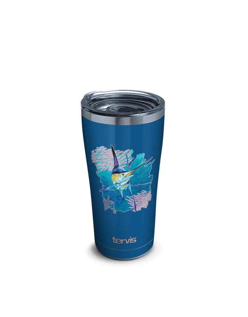 Tervis Tervis 20 ozStainless Steel With Slider Lid Guy Harvey® - Offshore Haul Marlin