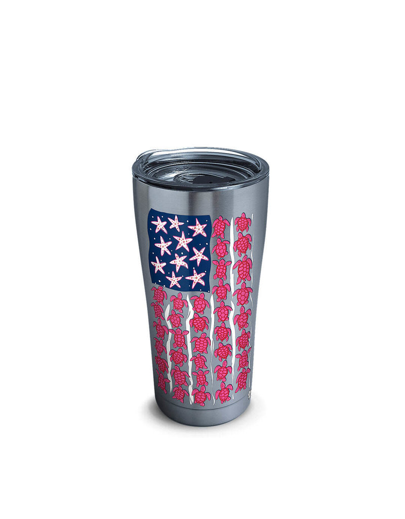 Tervis Tervis 20 ozStainless Steel With Slider Lid Simply Southern® - Turtle Flag
