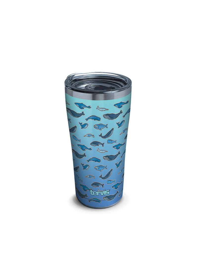 Tervis Tervis 20 ozStainless Steel With Slider Lid Whale Tail