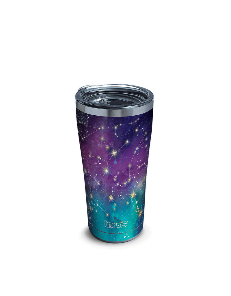 Tervis Tervis 20 ozStainless Steel With Slider Lid Zodiac Galaxy