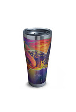 Tervis Tervis 30 ozStainless Steel With Slider Lid Guy Harvey® - Neon Turtle