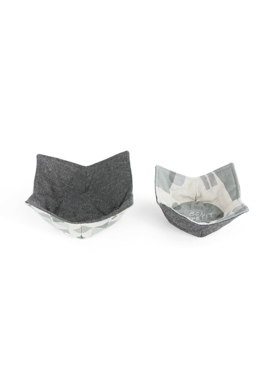 Microwavable Bowl Pot Holder - Set of 2 Bon Appétit