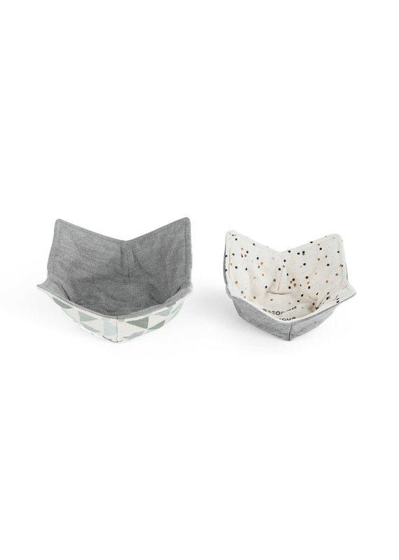 Microwavable Bowl Pot Holder - Set of 2 Seasoned