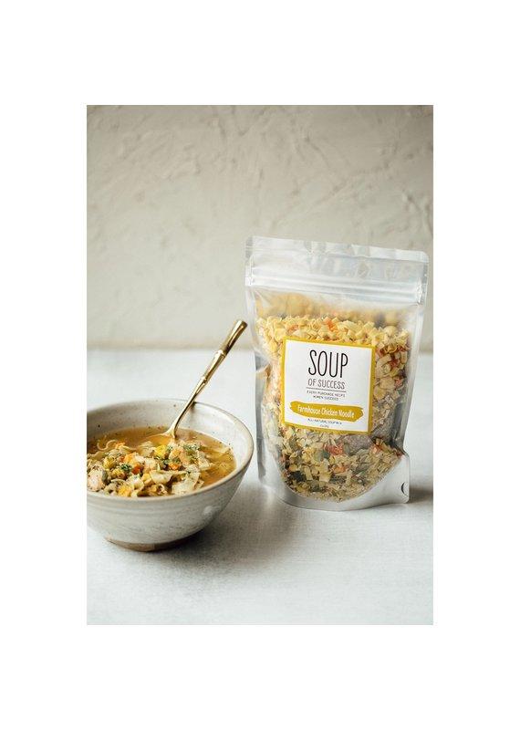 Soup of Success Farmhouse Chicken Noodle Soup