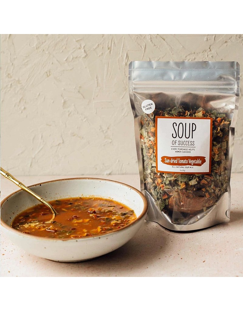 Soup of Success Sun-dried Tomato Vegetable Soup