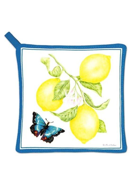 Alice Cottage Potholder Lemons