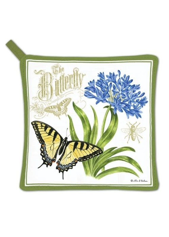 Alice Cottage Potholder Butterfly