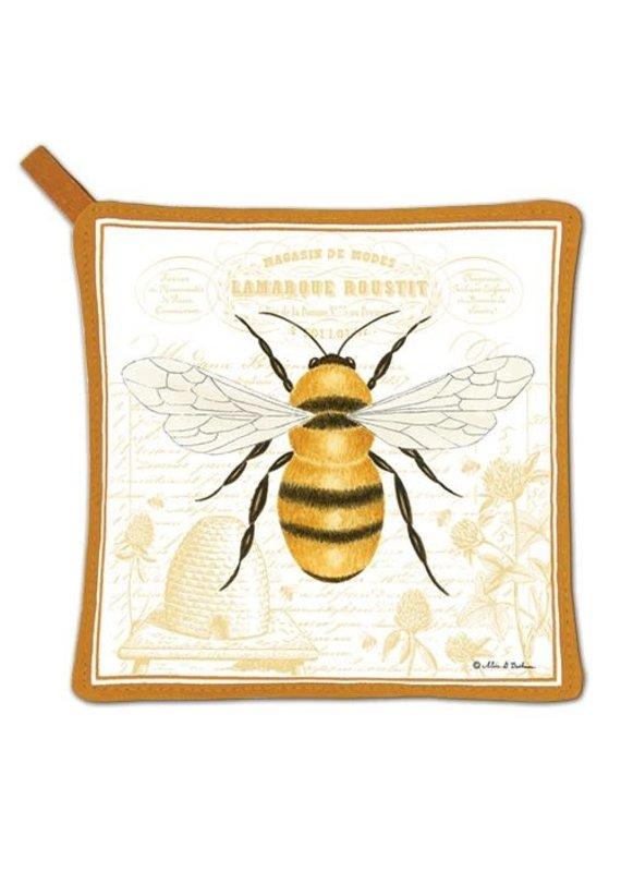 Alice Cottage Potholder Honey Bee